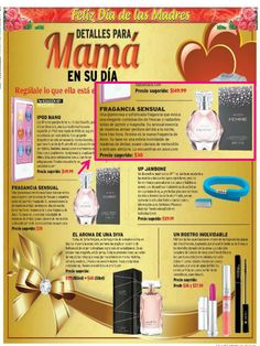 Hoy newspaper included Avon Femme in their Mother's Day Gift Guide as a glamorous and sophisticated fragrance option! #makesmeshine
