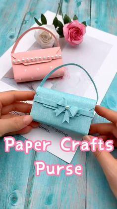 Cool Paper Crafts, Paper Crafts Origami, Diy Paper, Paper Craft Work, Paper Gifts, Diy Crafts Hacks, Diy Crafts For Gifts, Creative Crafts, Summer Crafts