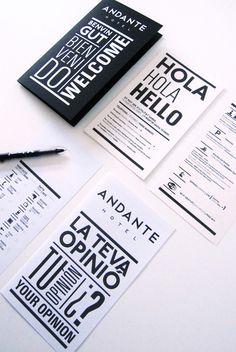Andante Hotel by Gerundio Lorena Alonso Noblom, via Behance