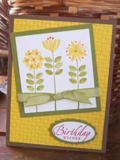 Sweet Summer Birthday by AJR - Cards and Paper Crafts at Splitcoaststampers