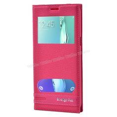 Samsung Galaxy S6 Edge Plus Çift Pencereli Kılıf Pembe -  - Price : TL28.90. Buy now at http://www.teleplus.com.tr/index.php/samsung-galaxy-s6-edge-plus-cift-pencereli-kilif-pembe.html