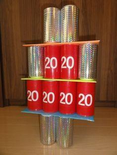 2歳目線で嵐。 Diy And Crafts, Paper Crafts, Birthday Games, Toilet Paper Roll, Recycled Materials, Fun Games, Red Bull, Baby Kids, Toys