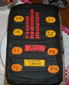 KITT ( Scanner From Knight Rider) - I made this for my hubby's bday !!! He loves Knight Rider so I made Kitt the Scanner Voice Box from Knight Rider!!