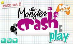 Monster Crash - crosses puzzle game with destruction