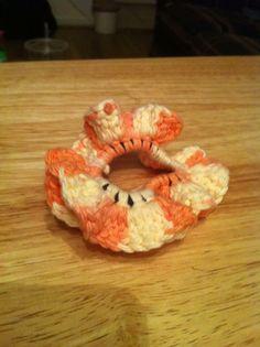 Sunny. Orange. Scrunchie