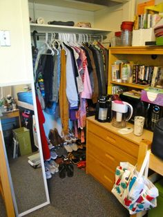 Pin for Later: 13 Fashion Lessons I Wish Someone Had Taught Me Before College Your dorm closet is only so big, so pack for each season.