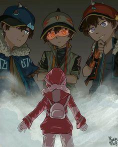 Yaya Tohoku vs the fusions Galaxy Movie, Anime Galaxy, Boboiboy Galaxy, Boboiboy Anime, Kawaii Anime, Anime Art, Anime Version, Cartoon Movies, Marvel Funny