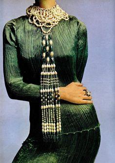 Delphos Fortuny silk dress