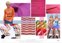 TRENDS // SPIN EXPO - COLOR AND MATERIALS/CANDY CRUSH . S/S 2017   FASHION…