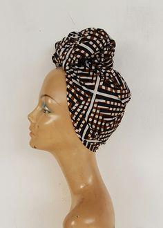 African Print head wrap / ankara headwrap /african print/ african styles / scarf/ wax print by AdinkraExpo on Etsy
