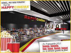 Film gratuit la HAPPYCINEMA® pentru Ion și Ioana pe 7 ianuarie Blog, Blogging