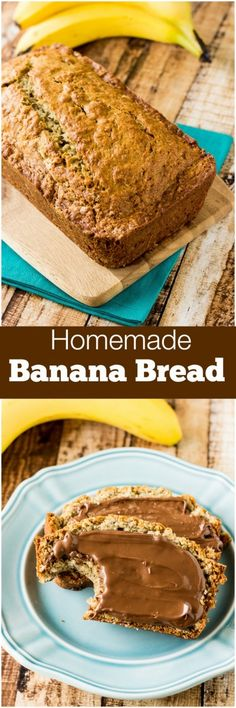 The BEST Banana Bread Recipe and it's so EASY to make!