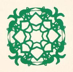 Cut Paper - Gwiazdy Sample of Three-fold papercut. Summer Camp Crafts, Camping Crafts, Paper Art, Paper Crafts, Cut Paper, Polish Tattoos, Chinese Paper Cutting, Geography For Kids, Paper Cut Design
