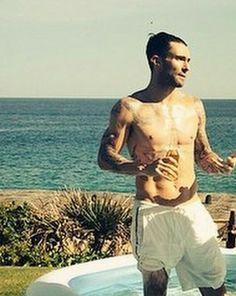 Adam Levine (up close of instagram)