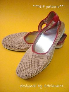 DIGITAL PATTERN FOR MAKING WOMEN CROCHETED SANDALS