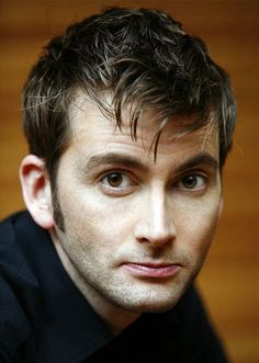 David Tennant. True personality is a HUGE factor in his attractiveness, but he's still eye candy.