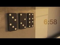 The Domino Clock takes a simple, iconic object and transforms it into a new way to tell time. The concept is simple.