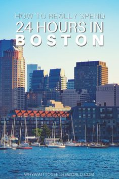 If you're looking for how to spend one day in Boston, this post has everything you need to plan your 24 hours in Boston right! Slow Travel, Travel Usa, Travel Tips, Travel Destinations, Boston Things To Do, Explore Travel, In Boston, Eat Sleep, Where To Go