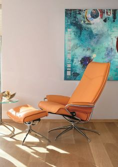Relaxfauteuil City Stressless Ekornes-I may like this design better.