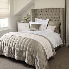 Gorgeous bedding from The White Company   http://www.thewhitecompany.com/bedroom/bed-linen/dorchester-bed-linen-collection/