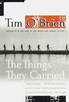 "I read this book for the first time my Sophomore year of High School and have about four times since then. O'Brien's ability to mix fact and fiction allows the reader to question if these were events that O'Brien experienced while he was in Vietnam or was it a fictional event. The book follows a group of soldiers through Vietnam, it tells the story of the ""things they carried"" with them through the war and afterwards. It's one of the best books I've read and my favorite Tim O'Brien Book."