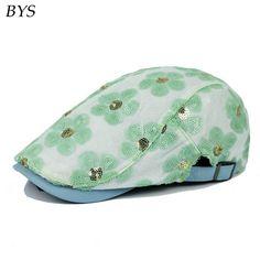 50b4a765367 Aliexpress.com   Buy 2016 New Summer Floral Beret Men Design Linen Hat  Women Autumn and Spring Comfortable Boinas Breathable Mesh Cap Sunbonnet  Toca from ...