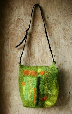 another nice felted purse