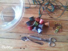 Bricolage avec capsules de caf on pinterest nespresso - Que faire avec des capsules de cafe ...