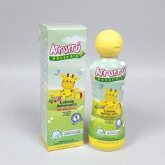 Arrurru Baby Cologne Refreshing Original 7.4 oz for babies and children (3-Pack)