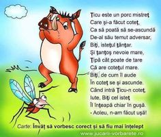 ticu e cam neatent Nursery Rhymes, Preschool Activities, Winnie The Pooh, Coloring Pages, Children, Kids, Disney Characters, Fictional Characters, Poems