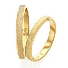 Βέρες γάμου Stergiadis χρυσό Κ14 Communion Dresses, Got Married, Wedding Rings, Jewels, Engagement Rings, Bracelets, Gold, Weddings, Enagement Rings