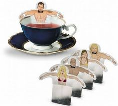 Funny tea bags - not sure just what this inspires me to make - but I am sure that we could do something with Storybook