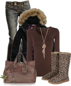 """Animal Print Boot Contest"" by cindycook10 on Polyvore"