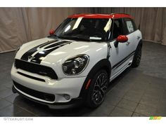 2014 mini Cooper John Cooper Works Countryman All4 AWD - Light White / Carbon Black photo #1