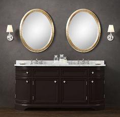 Odéon Double Vanity Sink