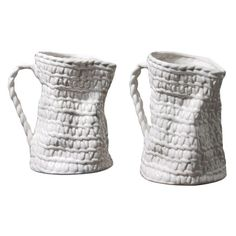 basketweave pitchers