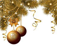 Decorative Transparent Christmas top panel.