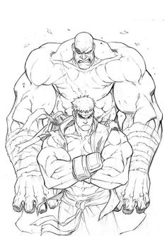 DeviantArt is the world's largest online social community for artists and art enthusiasts, allowing people to connect through the creation and sharing of art. Street Fighter Ryu, Super Street Fighter, Character Sketches, Character Drawing, Art Sketches, Street Fighter Characters, Arte Dc Comics, Street Fights, Fantasy Comics