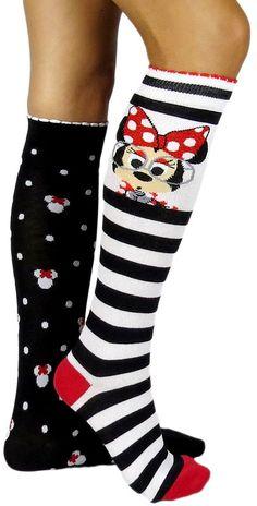 Disney Discovery- Minnie Mouse Knee Socks