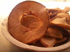 Chips di mele essiccate al forno senza zucchero