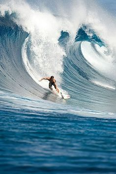 I would be elated to paint this awesome scene...but you won't ever see me riding the waves! This is the simple truth.