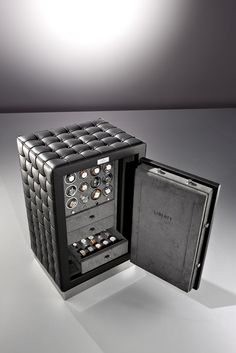 nice safe for a watch collection For more inspirations: www.bocadolobo.com Safes, luxurysafes, luxurylifestyle, exclusive design, highendlifestyle #luxurysafes #billionaire Watch Case, Watch Box, Home Accessories, Watch Accessories, Cool Watches, Men's Watches, Watches For Men, House, Citizen Eco