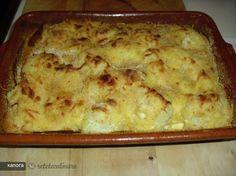 Reteta culinara Conopida Gratinata din Carte de bucate, Garnituri. Specific Romania. Cum sa faci Conopida Gratinata