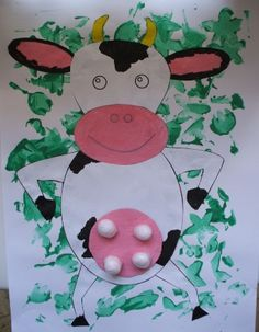 Cow Paper Craft
