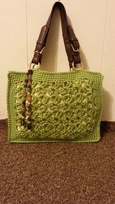 #Crochet Marielle Lace Stitch Handbag Purse #TUTORIAL DIY