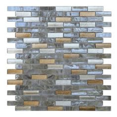 Shop for Opal Gold, Silver, and Off-white Glass Glossy Mosaic Tiles (Pack of 10). Get free delivery at Overstock.com - Your Online Home Improvement Shop! Get 5% in rewards with Club O! - 19750459