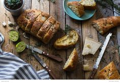 Mix things up by adding some Parmesan and lime - a yummy twist on an old favourite. Buttermilk Rusks, Tortilla Rolls, Grape Juice, Croissants, Garlic Bread, Bagels, Tortillas, Parmesan, Feta