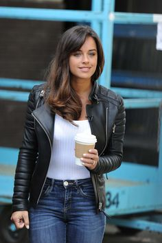 Georgia May Foote Bikini, Leather Jacket Outfits, Lace Up Booties, Sexy Jeans, Cute Woman, Mode Style, Sexy Outfits, Sexy Women, Jackets For Women