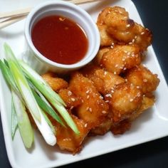 Sweet and Sour Sesame Chicken by JoyouslyDomestic