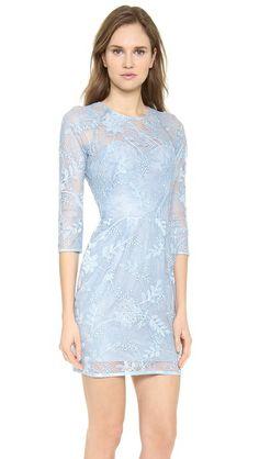 Lela Rose Lace Dress